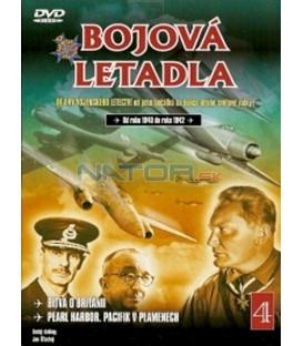 Bojová letadla 4 (La Batalla de Inglaterra / Pearl Harbor, El Pacífico en Ilamas) DVD