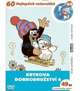 Krtkova dobrodružství 4 DVD