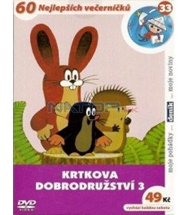 Krtkova dobrodružství 3 DVD