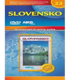 Nejkrásnější místa světa 23 - Slovensko DVD