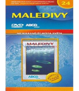 Nejkrásnější místa světa 24 - Maledivy (Maldives - Lune de miel avec l´océan) DVD