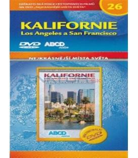 Nejkrásnější místa světa 26 - Kalifornie: Los Angeles a San Francisco(Los Angeles: La ville Star + San Francisco) DVD
