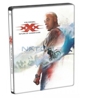xXx: Návrat Xandera Cage (xXx: The Return Of Xander Cage) Blu-ray 3D+2D steelbook