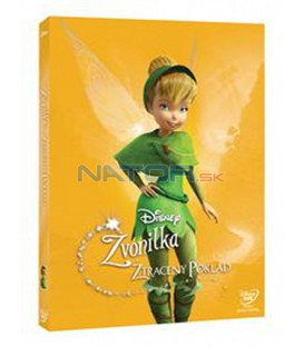 Zvonilka a ztracený poklad (Tinker Bell And The Lost Treasure) Edice Disney Víly DVD