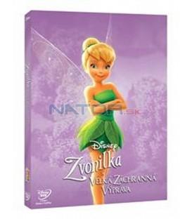 Zvonilka a velká záchranná výprava (Tinker Bell and the Great Fairy Rescue) Edice Disney Víly DVD