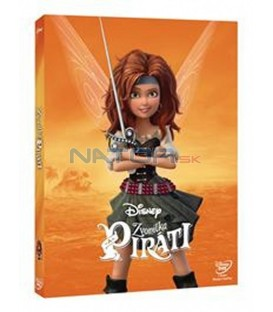 Zvonilka a piráti (The Pirate Fairy) Edice Disney Víly DVD