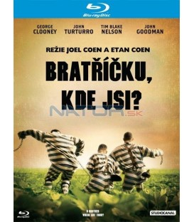 BRATŘÍČKU, KDE JSI? (O Brother, Where Art Thou?) Blu-ray