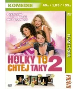 Holky to chtěj taky 2 (Mädchen, Mädchen 2 - Loft oder Liebe) DVD