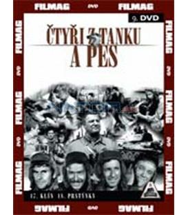 Čtyři z tanku a pes 9. - díly 17 a 18 (Czterej pancerni i pies) DVD