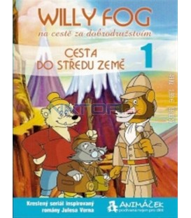 Willy Fog - disk 1: Cesta do středu Země 1 (Willy Fog in Journey to the Center of the Earth) DVD
