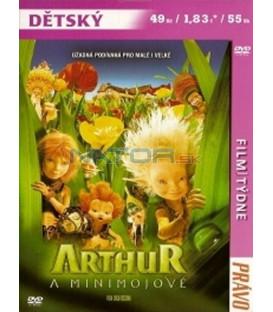 Arthur a Minimojové (Arthur et les Minimoys) DVD