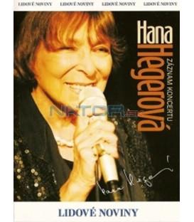 Hana Hegerová - Záznam koncertu DVD