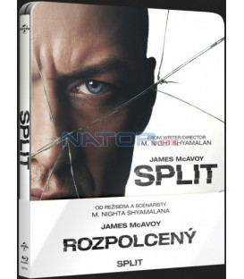 ROZPOLCENÝ (Split) Blu-ray STEELBOOK