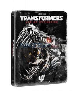 Transformers: Zánik (Transformers: Age of Extinction) - Edice 10 let BLU RAY STEELBOOK