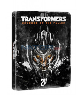 Transformers: Pomsta poražených (Transformers: Revenge Of The Fallen) Edice 10 let BLU RAY STEELBOOK