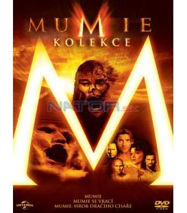 MUMIE 1-3 KOLEKCE - 3 DVD