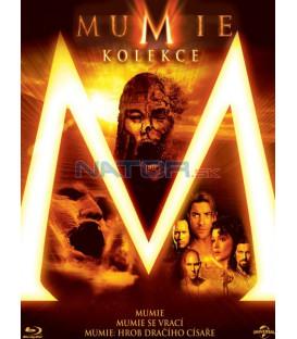 MUMIE 1-3 KOLEKCE (3 BD) - Blu-ray