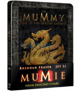 Mumie: Hrob dračího císaře (Mummy: Tomb of the Dragon Emperor) Blu-ray STEELBOOK