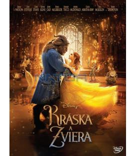 KRÁSKA A ZVÍŘE 2017 (Beauty and the Beast) DVD