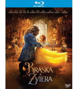 KRÁSKA A ZVÍŘE 2017 (Beauty and the Beast) Blu-ray