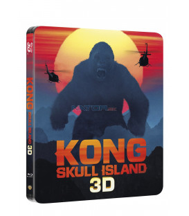 Kong: Ostrov lebek (Kong: Skull Island)  Blu-ray 3D + 2D