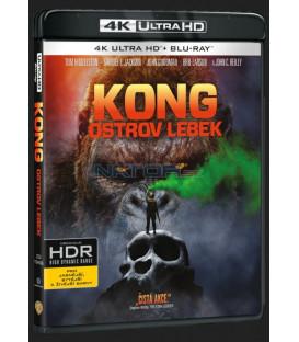 Kong: Ostrov lebek (Kong: Skull Island) UHD+BD - 2 x Blu-ray
