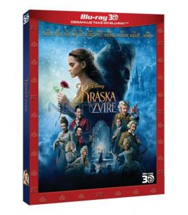 KRÁSKA A ZVÍŘE 2017 (Beauty and the Beast) Blu-ray  limitovaná sběratelská edice
