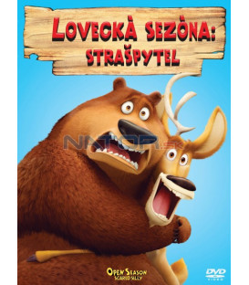 LOVECKÁ SEZÓNA 4: STRAŠPYTEL (Open Season: Scared Silly) Big Face DVD
