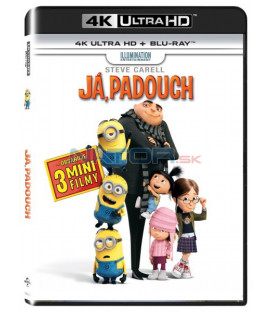 Ja, zloduch  / JÁ, PADOUCH  / (Despicable Me ) UHD+BD - 2 x Blu-ray