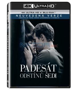 Padesát odstínů šedi (Fifty Shades of Grey) UHD+BD - 2 x Blu-ray