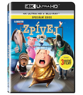 spievaj (Sing) UHD+BD - 2 x Blu-ray