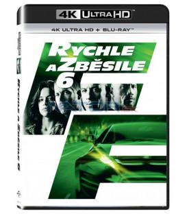 RYCHLE A ZBĚSILE 6 (Fast & Furious 6) UHD+BD - 2 x Blu-ray