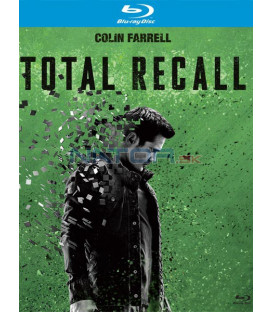 Total Recall 2012 Big Face Blu-ray