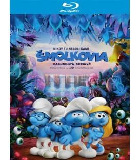ŠMOULOVÉ: ZAPOMENUTÁ VESNICE / Šmolkovia: Zabudnutá dedinka (Smurfs: The Lost Village) UHD+BD - 2 x Blu-ray