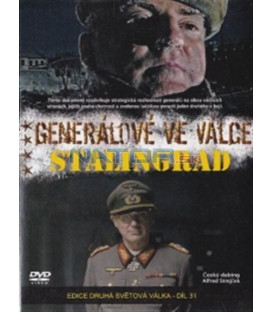 Generálové ve válce (6. díl) - Stalingrad(Generals at War - The Battle of Stalingrad) DVD