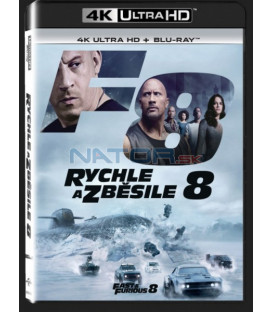RYCHLE A ZBĚSILE 8 (The Fate of the Furious) UHD+BD - 2 x Blu-ray