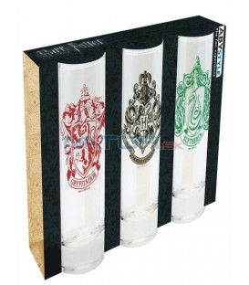 Sklenice Harry Potter set 3ks