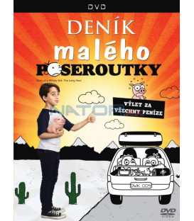 DENÍK MALÉHO POSEROUTKY: VÝLET ZA VŠECHNY PENÍZE (Diary of a Wimpy Kid: The Long Haul) DVD