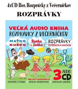 4xCD Box Rozprávky z Večerníčkov