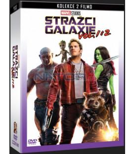 Strážci Galaxie + Strážci Galaxie Vol. 2 (Guardians of the Galaxy + Guardians of the Galasy Vol. 2) DVD