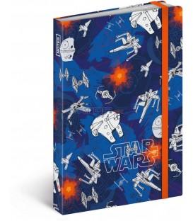Notes Star Wars Mini, linkovaný, 9 x 13 cm