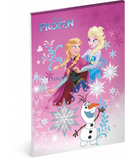 Blok Frozen – Ledové království, A4, nelinkovaný