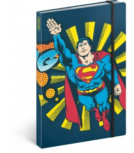 Notes Superman – Bang, linkovaný, 13 x 21 cm