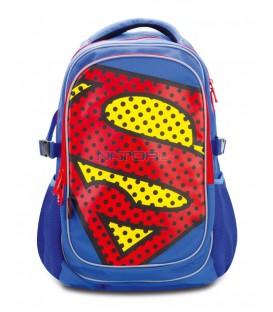 Školní batoh s pončem Superman – POP
