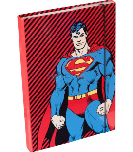 Desky na školní sešity A4 Superman