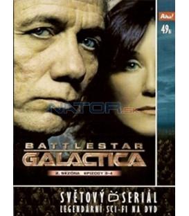 Battlestar Galactica - disk 9 - 2. sezóna, epizody 3 a 4 (Battlestar Galactica)