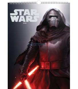Nástěnný kalendář Star Wars – Plakáty 2018, 33 x 46 cm