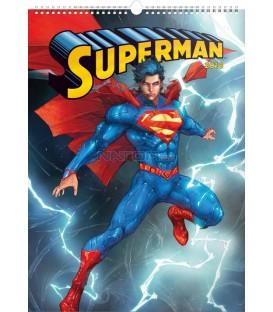 Nástěnný kalendář Superman – Plakáty 2018, 33 x 46 cm