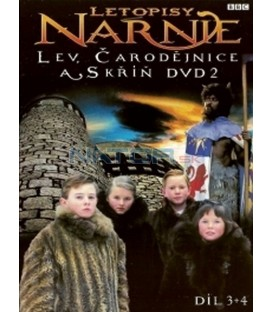Letopisy Narnie - Lev, čarodějnice a skříň - DVD 2, díl 3 + 4 (The Chronicles of Narnia - The Lion, the Witch, & the Wardrobe)
