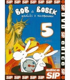 Bob a Bobek 5 - králíci z klobouku DVD